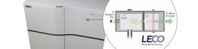 Multi-Mode Source™ - LECO  - Opções de Instrumentos Analíticos Científicos - Fonte de ionização para espectrometria de massa por cromatografia gasosa -