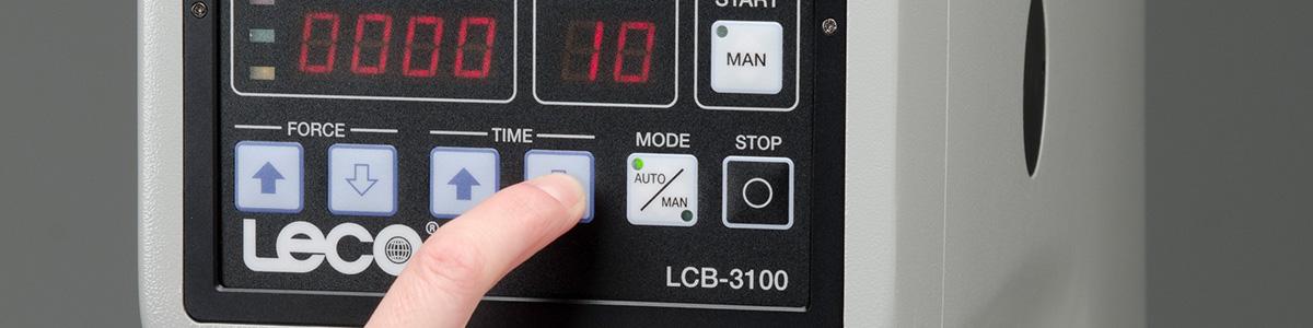 Testador de dureza de célula de carga LCB3100 Brinell - LECO LCB3100 - Instrumentos Analíticos Científicos Hard-Sort - Testador Brinell de Célula de Carga -