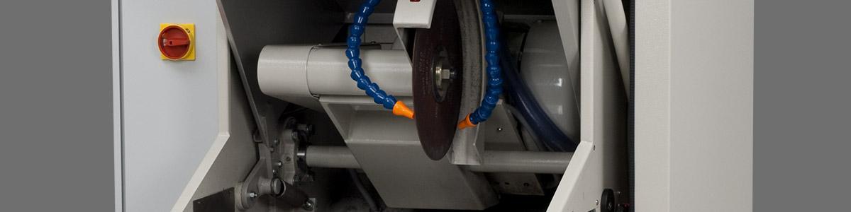 Cortadora MSX305R - LECO MSX305R - Instrumentos Analíticos Científicos Sect-Floor-Sort - Serra de corte para amostras grandes -