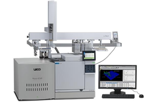 Pegasus® BT 4D GCxGC-TOFMS - LECO Pegasus BT 4D - Instrumentos analíticos científicos de quantificação - Espectrômetro de massa por tempo de voo com GCxGC - TOFMS, GCxGCTOFMS, GC-TOF-MS, GC TOF MS, GCxGC Bi-dimensional, GCxGC MS, Espectrometria de Massa de Cromatografia Gasosa