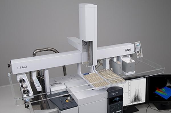 Amostrador automático de GC L-PAL3 - LECO L-PAL3 - Opções de Instrumentos Analíticos Científicos - Amostrador automático para unidades de cromatografia gasosa -