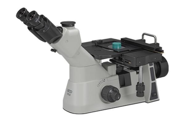 Microscópio invertido VX4 - LECO VX4 - Instrumentos Analíticos Científicos Micro-Sort - Microscópio metalúrgico invertido compacto -