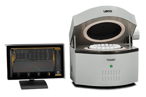 TGA801 Analisador termogravimétrico - LECO TGA801 - Instrumentos Analíticos Científicos Termogravimétricos - Umidade, cinzas, voláteis e perda por ignição -