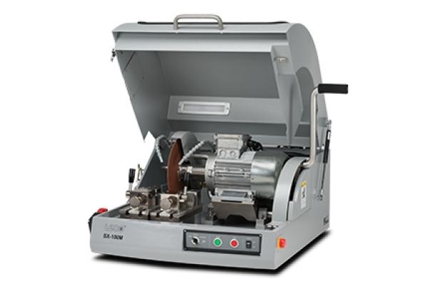 Cortadora SX100 - LECO SX100 - Instrumentos Analíticos Científicos Sec-Bench-Sort - Serra de bancada eficiente para corte metalográfico -