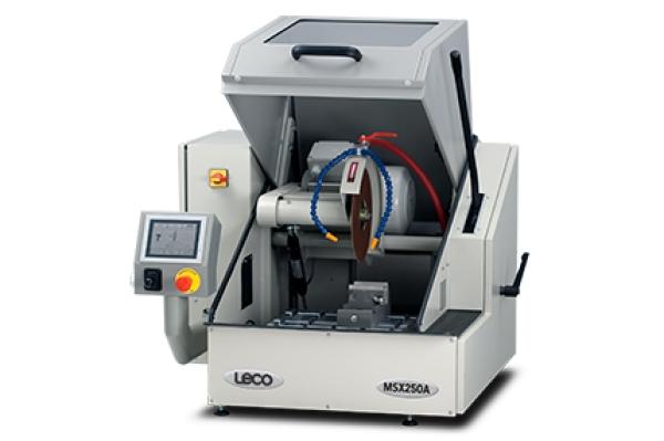 Cortadora MSX250 - LECO MSX250 - Instrumentos Analíticos Científicos Sec-Bench-Sort - Cortes para partes e peças automotivas e cerâmicas -